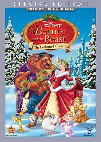 Beauty and the Beast The Enchanted Christmas [Blu Ray]