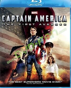 Captain America The First Avenger [Blu-ray]