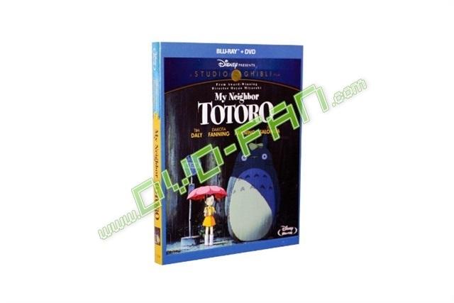My Neighbor Totoro Blu Ray: My Neighbour Totoro [Blu-Ray]