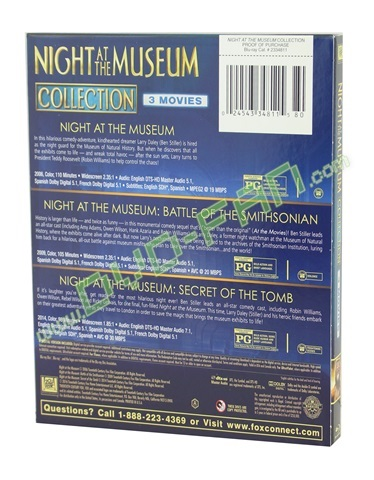 Night at Museum 3-Movie Collection