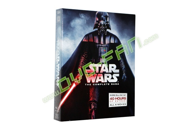 Star Wars  The Complete Saga [Blu-ray]
