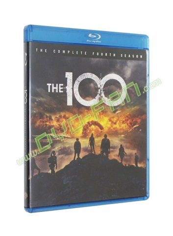 The 100: The Complete Fourth Season Blu-ray