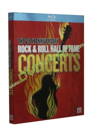 THE 25THANNIVERSARY ROCK & ROLL HALL OF FAME CONCERTSTHE 25THANNIVERSARY ROCK & ROLL HALL OF FAME CONCERTSTHE 25THANNIVERSARY ROCK & ROLL HALL OF FAME CONCERTS