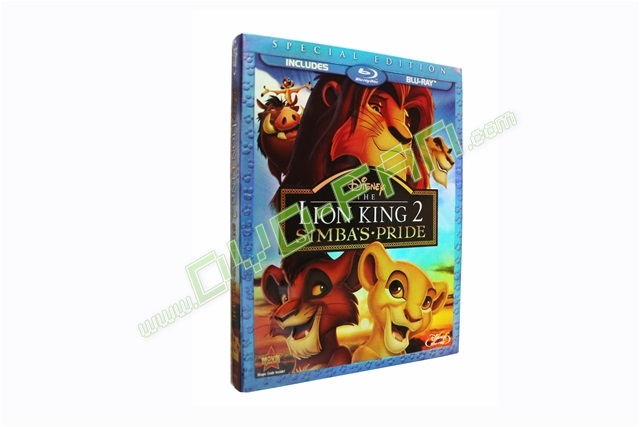 The Lion King II Simba's Pride [Blu Ray]