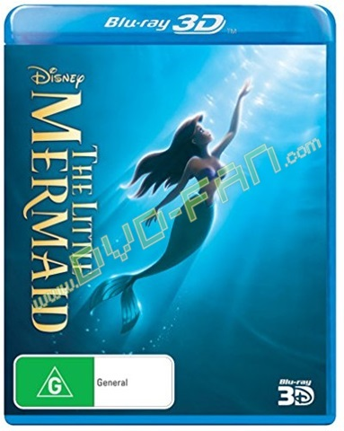 The Little Mermaid 3D [Blu-Ray]