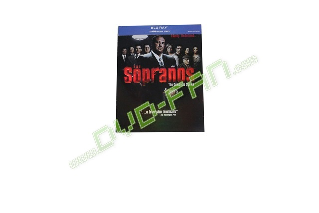 The Sopranos  The Complete Series [Blu-ray]