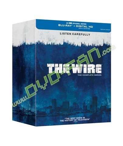The Wire  The Complete Series  [Blu-ray]