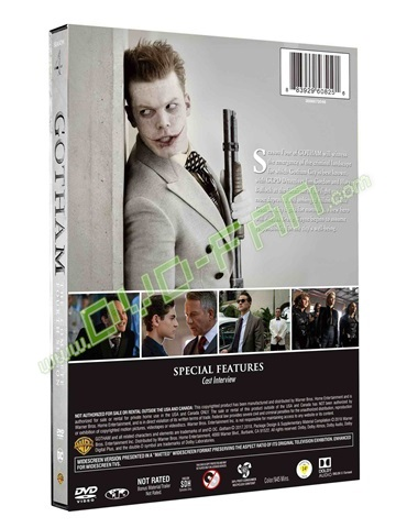 Gotham: Season 4 dvds