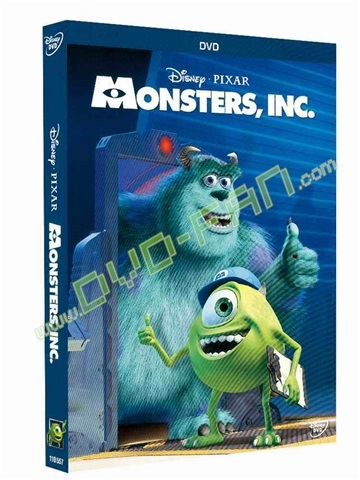 Monsters, Inc. dvds