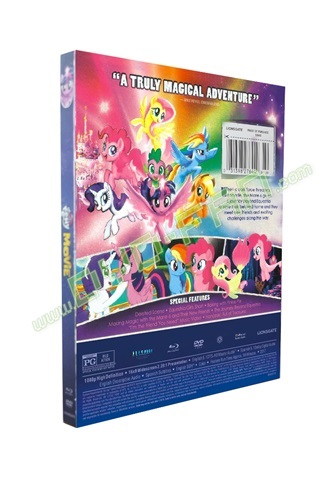 My Little Pony The Movie dvds