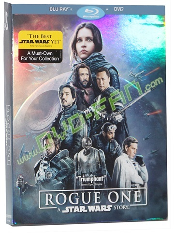 Rogue One: A Star Wars Story (2016) 2BD 1DVD