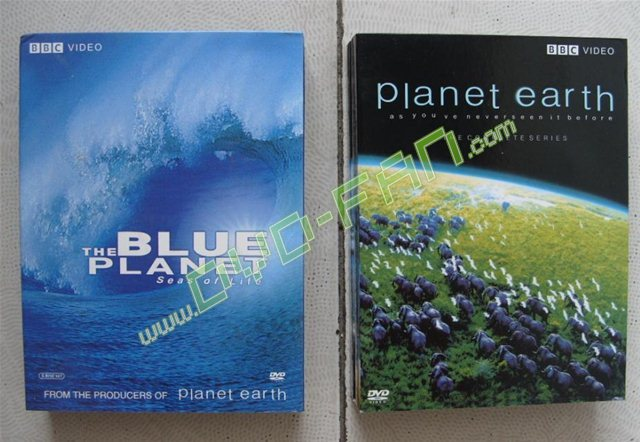 Blue Planet and Planet Earth