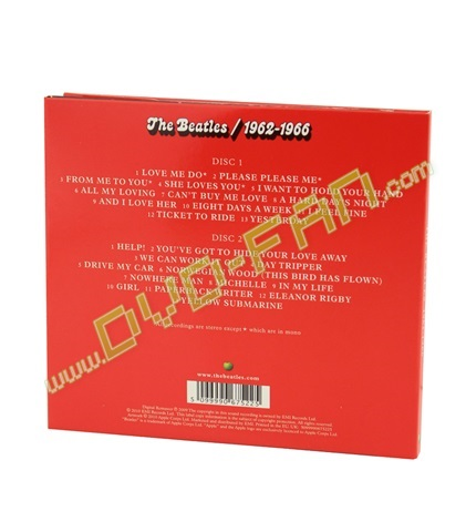 The Beatles 1962 - 1966 (The Red Album)