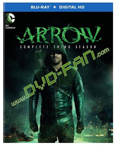 Blu-ray Arrow Season 3
