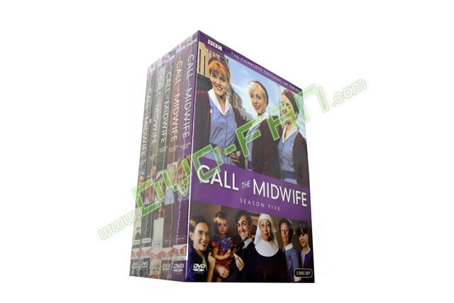 Call the Midwife Complete Series 1-5 UK version