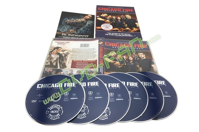 Chicago Fire Season 3 dvd wholesale China