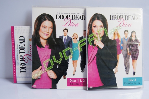 Drop dead diva the complete third season - Drop dead diva dvd ...