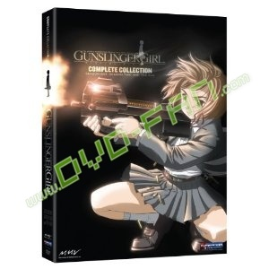 Gunslinger Girl Complete Collection dvd wholesale
