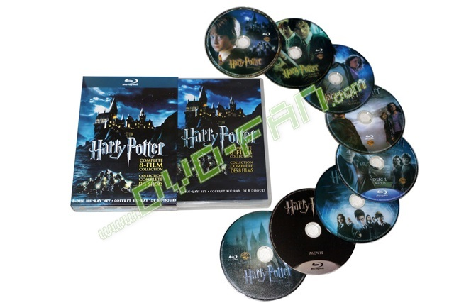 Harry Potter The Complete 8-Film Collection [Blu-ray]