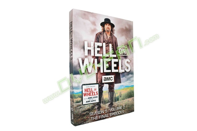 Hell on Wheels Season 5 Volume 2 The Final Episodes