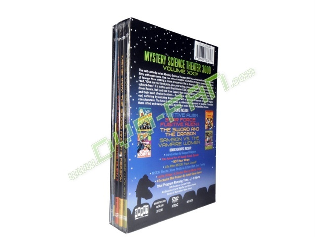 Mystery Science Theater 3000 XXIV dvd wholesale
