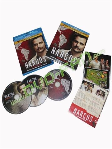 Narcos: Season 1 Digital dvds