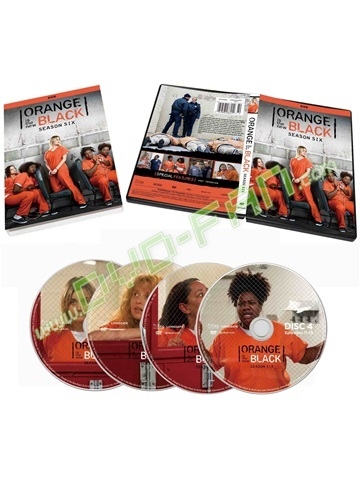 Orange is The New Black: Season 6 dvds