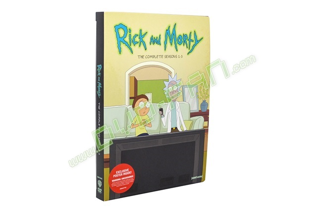 Rick and Morty season 1-3