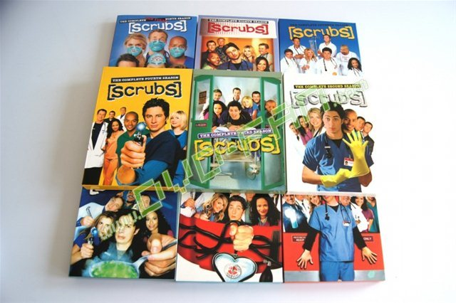 Scrubs The Complete Seasons 1 9