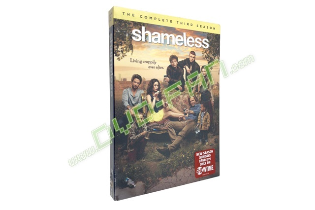 Shameless Season 3 dvds wholesale China