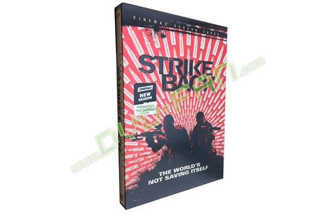 Strike Back The Complete Third Season