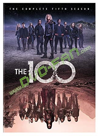 The 100: Seasons 4 dvds