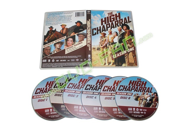 The High Chaparral: Season One dvds