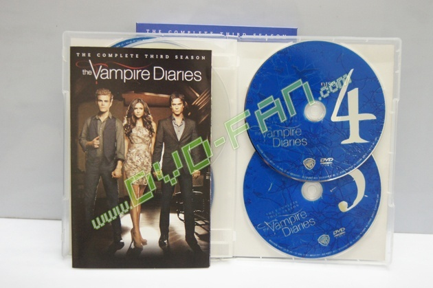 The Vampire Diaries Season 3 dvd wholesale