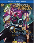 Batman Ninja dvds