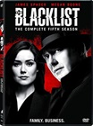 The Blacklist: Season 05 dvds
